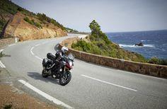 The 2014 Suzuki V-Strom 1000 riding along the coastline. What roads or trails do you prefer for an adventure? Roads, Trail, Adventure, Road Routes, Street, Adventure Movies, Adventure Books