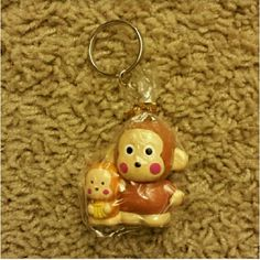Monkichi Hello Kitty Keychain - NWOT Brand new with wrapping Price is firm. Sale - Bundle 3 keychains together for $15. Sanrio Accessories Key & Card Holders