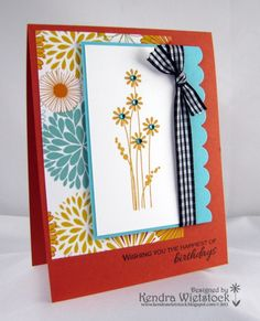 Kendra's Card Company: Spring Kit with Gina K Designs