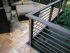 cool outdoor railing metal - Google Search