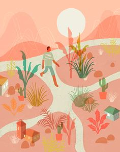 A Holiday Walk on Behance