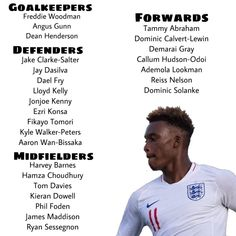 d50c03c81 SQUAD ANNOUNCEMENT! ..and it s a first U21 call up for Chelsea s Callum  Hudson