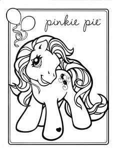My Little Pony coloring page MLP - Pinky Pie