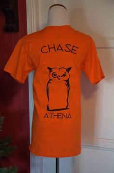 Camp Half-Blood Shirt, Uni-Sex Adult T-Shirt, Chase Athena Cabin
