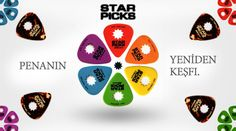 Penanın yeniden keşfi. Star Picks tüm seçenekleriyle aramızda. http://www.gitarpazar.com/star-picks