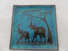 "Kisii Stone Handcrafted Stoneware Plate, 8"" (20cm) - African Dream"