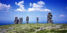 золотая баба и каменные столбы Cool Photos, Russia, Tourism, Mountains, Photo And Video, World, Beach, Places, Nature