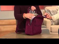 Vera Bradley Microfiber Ultimate Backpack with Courtney Cason - YouTube