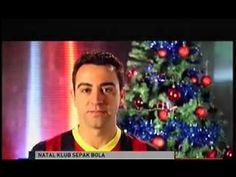 barcelona rayakan natal