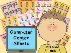 Computer Center Sheets allow you set up the computers in your classroom so that they direct your students to specific skill related websites. With these, there's less frustration for you and your students!