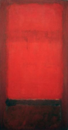 Mark Rothko, No. 36 (Light Red over Dark Red), 1955-57