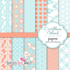 afforable digital paper for all of your scrapbook projects...a lot of cute designs