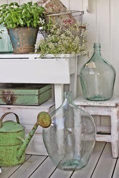 VIBEKE DESIGN: Grønn glede på verandaen !