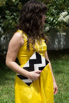 DIY Girls Clutch : DIY Duct Tape Chevron Clutch Purse