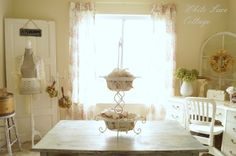 Studio Craft Room My Space - White Lace Cottage