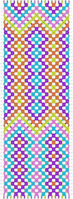 Normal pattern #23053 | BraceletBook