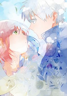 Akagami no Shirayuki-hime - Snow White with the Red Hair - Shirayuki & Zen