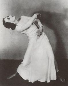 Doris Humphrey (October 17, 1895 – December 29, 1958)