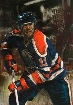 Messier Mark Hockey Drawing, Peter Forsberg, Alexander Ovechkin, Mark Messier, Hockey Pictures, Wayne Gretzky, Edmonton Oilers, American Sports, Nfl Fans