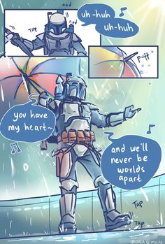 Happy Star Wars Day, Star Wars Painting, Singing In The Rain, Star Wars Fan Art, Star Wars Humor, Love Stars, Obi Wan, Mandalorian, Clone Wars