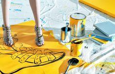 Raymond Meier - Yellow painting