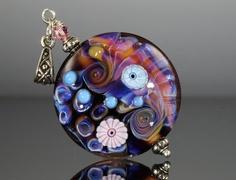 lampwork pendant sale lampwork glass bead by