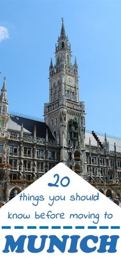 20 things you should know before moving to Munich, by Packing my Suitcase. // Such a great post, I agree with absolutely everything!