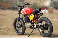 DIRT RAD by Radical Ducati. Hybrid based on the Yam 1989 XT600, Ducati and Bultaco components!