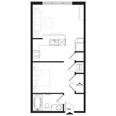 Cabana 2 Contemporary 1001172 as well Tiny House Single Floor Plans 2 Bedrooms Bedroom House Plans Two Bedroom Homes Appeal To People In A Variety further Floor Plans moreover I Like Floor Plans moreover 2 Bedroom Apartment. on 1 bedroom 5 bath guest house floor plan