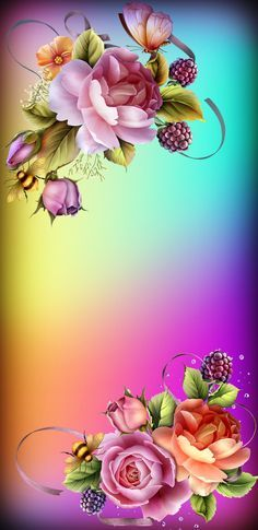 19 Ideas For Wall Paper Flowers Art Beautiful Glitter Phone Wallpaper, Flowery Wallpaper, Flower Phone Wallpaper, Butterfly Wallpaper, Rose Wallpaper, Wallpaper Iphone Cute, Cellphone Wallpaper, Wallpaper Backgrounds, Beautiful Rose Flowers