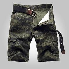 e16042f2af HCXY brand fashion style Shorts casual Camouflage Cargo Shorts Men Cotton  work Shorts army beauty Shorts
