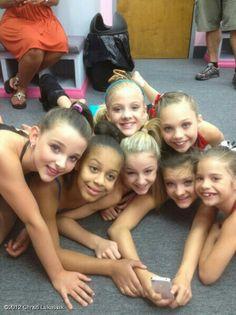 Kendall, Nia, Paige, Chloe, Brooke, Maddie, and Mackenzie.