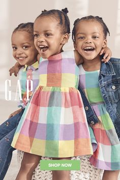 Ruffles and florals and more, oh my! Shop these spring dresses (and lots more dressy outfit ideas! Cute Outfits For Kids, Cute Kids, Cute Babies, Baby Kids, Beautiful Black Babies, Beautiful Children, Trendy Kids, Stylish Kids, Little People