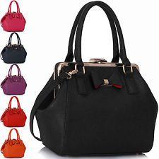 Ladies Designer Bags Black Leather New Womens Handbags Tote Shoulder Celebrity