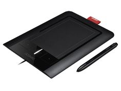 I have the Wacom Bamboo Pen and Touch...love it..can't do a thing without it