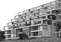 Housing – Page 3 – Housing Ideas Le Corbusier, Argentine Buenos Aires, Madrid, Creative Decor, Condominium, Window Treatments, Modern Architecture, Cool Pictures, Multi Story Building