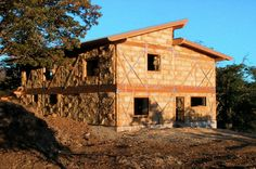 Straw Bale Home Design- stabilizing the walls