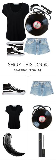 """street style"" by ecem1 ❤ liked on Polyvore featuring Vans, RE/DONE, Alexander Wang and Lancôme"