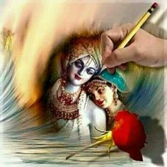 """ # Only YOU I Choose Among the Entire World. Artwork Credit ""Sri Radha Krishna by __()__ Love Radha Krishna Quotes, Radha Krishna Pictures, Radha Krishna Photo, Krishna Photos, Krishna Art, Krishna Lila, Yashoda Krishna, Shree Krishna, Radhe Krishna"