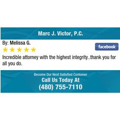 Incredible attorney with the highest integrity..thank you for all you do.