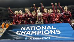 2012 NCAA Gymnastics Champions:  Alabama Crimson Tide