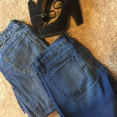 Jeans Bundle Front pants are YMI Size 5 skinny jeans and back jeans are Express size 4R boot cut jeans. Still in very good condition.  Express Pants Skinny
