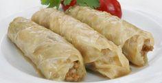 ( ^o^ )  Hojas de repollo / col – Rellenas de carne y arroz ( Receta original de Malfuf) – Recetas Arabes | Recetas de Cocina A