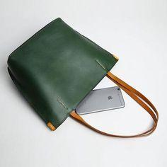 5739ec83bf Handmade Genuine Leather Handbag Tote Bag Purse Crossbody Bag Shoulder Bag  Purse For Women