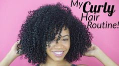 My curly hair routine! [Video] - http://community.blackhairinformation.com/video-gallery/natural-hair-videos/curly-hair-routine-video/