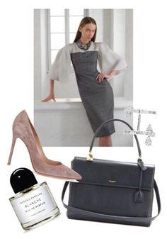 """Anna Vedeneeva Couture ""Grey"""" by annavedeneeva ❤ liked on Polyvore"