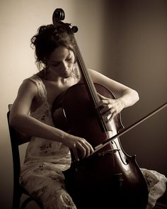 Learn to play the cello... most beautiful sounding instrument ever.