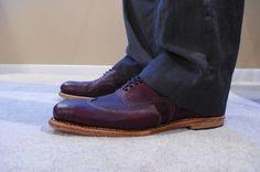 Homemade shoes.