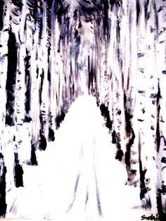 "Saatchi Art Artist Svetà Art; Painting, ""black & white II"" #art"