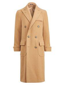 Polo Camel Hair Topcoat - Coats & Down Jackets Jackets & Coats - Ralph Lauren UK Ralph Lauren Coats, Polo Ralph Lauren, Mens Dress Coats, Polo Coat, Man's Overcoat, Ivy Style, Preppy Style, Menswear, Gentleman
